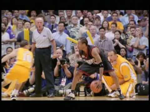 Allen Iverson Against Tyronne Lue 2001 Gm1 Vs Lakers Kobe