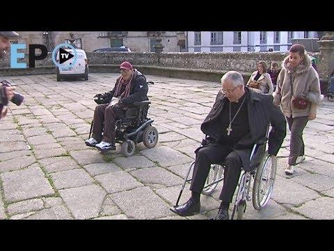 Auxilia denuncia problemas de accesibilidad al atrio de la Catedral de Lugo