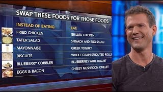 Dr. Travis Stork Advises 'Substitution, Not Deprivation' Is Key To Making Healthy Food Choices