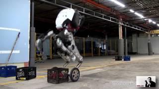 Новый робот из Boston Dynamics(озвучка, много мата)