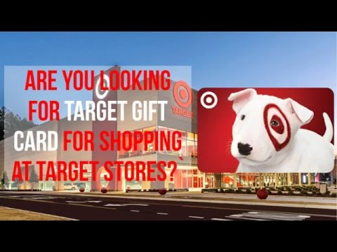 Target Gift Card: Easy and Quick Way to Get it - YouTube