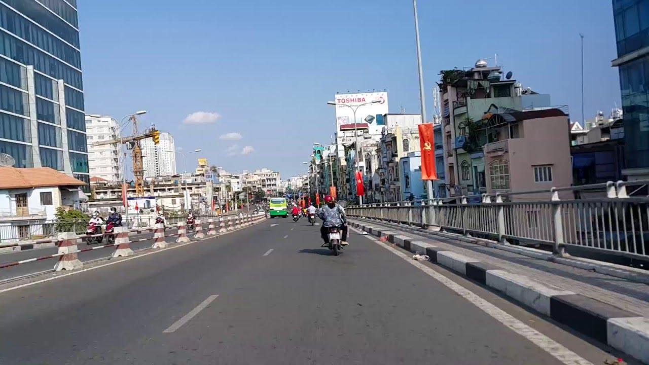 Cầu Khánh Hội bridge, Saigon Vietnam