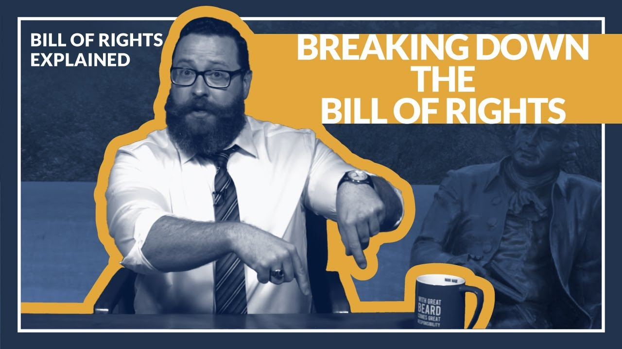 hight resolution of Bill of Rights Explained: Breaking down the amendments - YouTube