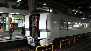 JR西日本683系2000番台 特急しらさぎ 金沢駅連結作業 thumbnail