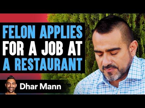 Criminal Applies For A Job At Restaurant, What Happens Next Is Shocking | Dhar Mann