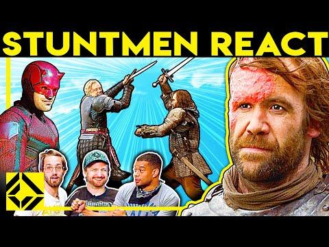 Stuntmen React To Bad & Great Hollywood Stunts 14