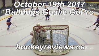 October 19th 2017 Bulldogs Hockey Goalie GoPro