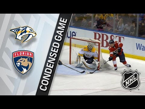 Nashville Predators vs Florida Panthers – Apr. 03, 2018 | Game Highlights | NHL 2017/18. Обзор