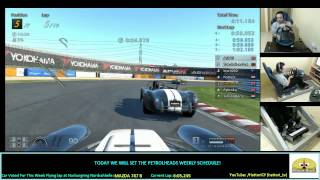 GT6 - Online fun Race with Ac Cobra at Tsukuba - Using Clutch - Streaming footage.