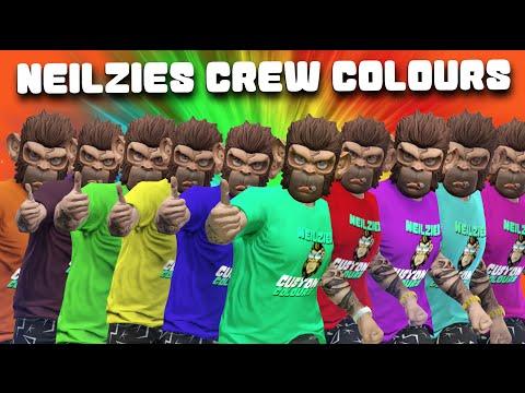 Neilzie's Custom Colour - Rockstar Social Club Crew Colours