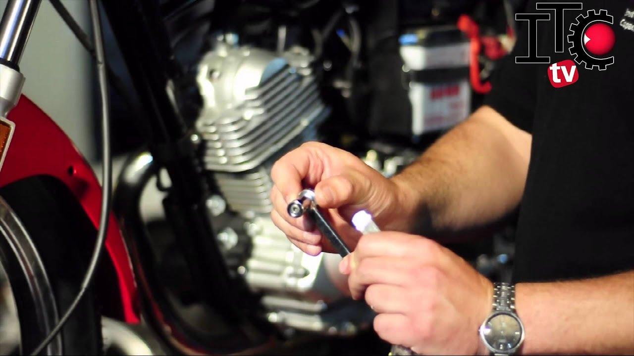 Regulación de válvulas en un Motor de Moto YBR 125 - YouTube