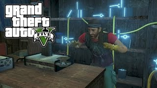 GTA V - SECRET CAR (SPACE DOCKER) STORY MODE - ALIEN CAR?