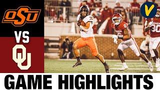#14 Oklahoma State Vs #18 Oklahoma Highlights | Week 12 2020 College Football Highlights