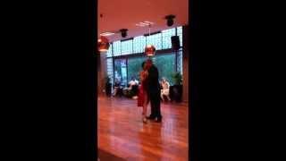 Martin Pargana y Andrea Ballestero, Buscándote en Estocolmo, Milonga 3esquinas