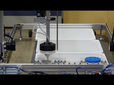 Automatic Cartesian Farming Robot - Full sequence