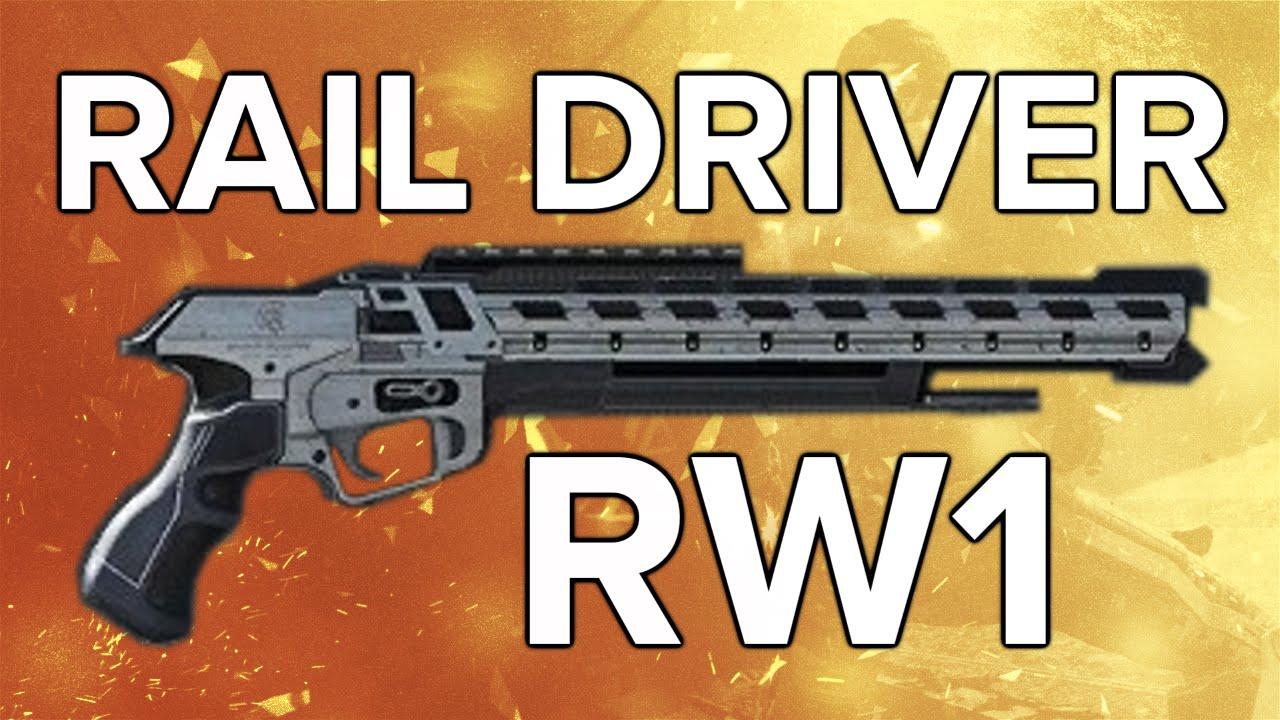 Advanced Warfare In Depth Rw1 Rail Driver Most One Shot Kills Elite Variant You