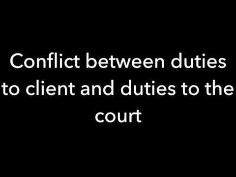 Criminal Responsibilities: Client Confessions (Gretel Cannon)