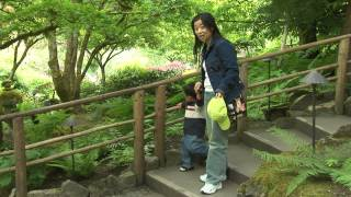Japanese Mother Small Son