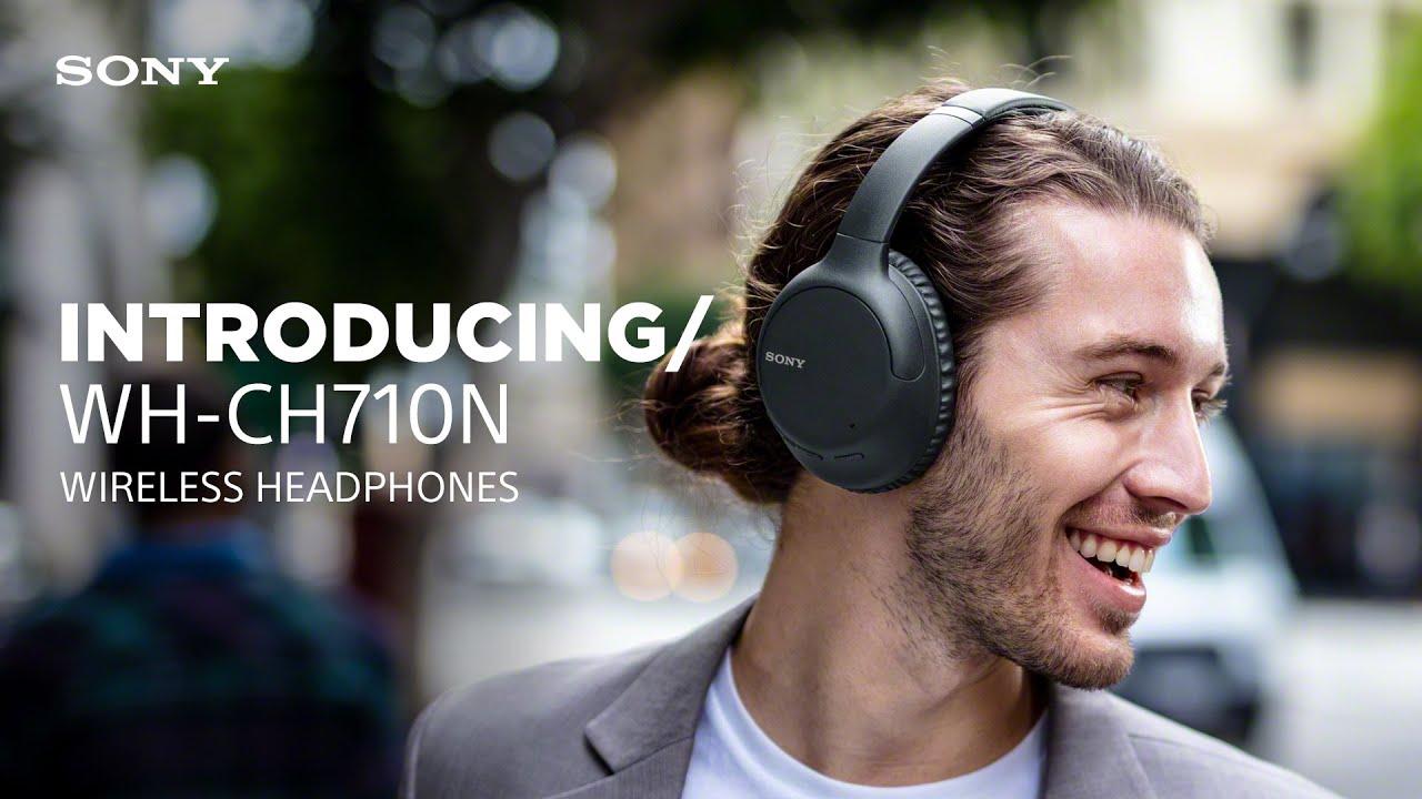 Presentamos los auriculares inalámbricos WH-CH710N de Sony - YouTube