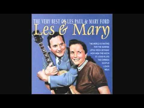 LES PAUL & MARY FORD - MOCKIN' BIRD HILL 1951