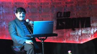 Prateek Seth Singing Bheegi Palkon par By Babu Maan 2015 @ Hotel Sun N Sands Downtown, DUBAI