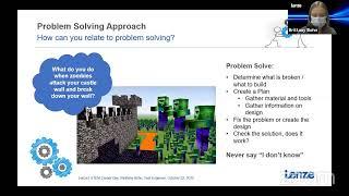Careers in STEM Webinar Series/Manufacturing Industry