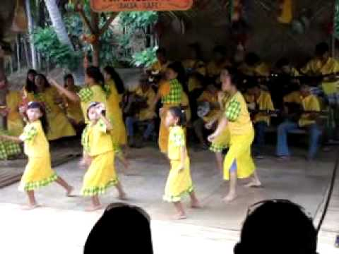 entertainment during the loboc river cruise in Bohol, Philippines.