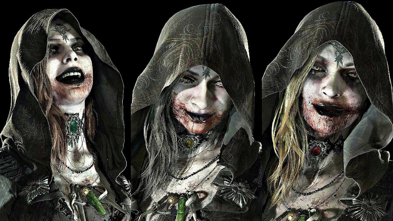 Resident Evil 8 Village - All Dimitrescu Daughters Boss Fight (4K 60FPS) -  YouTube