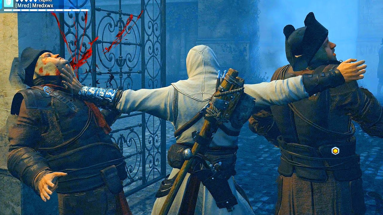 Assassin's Creed Unity Stealth vs Rampage  Catacomb Raider Ultra Settings thumbnail