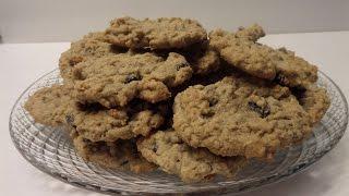 How To Make Oatmeal Raisin Cookies Tutorial
