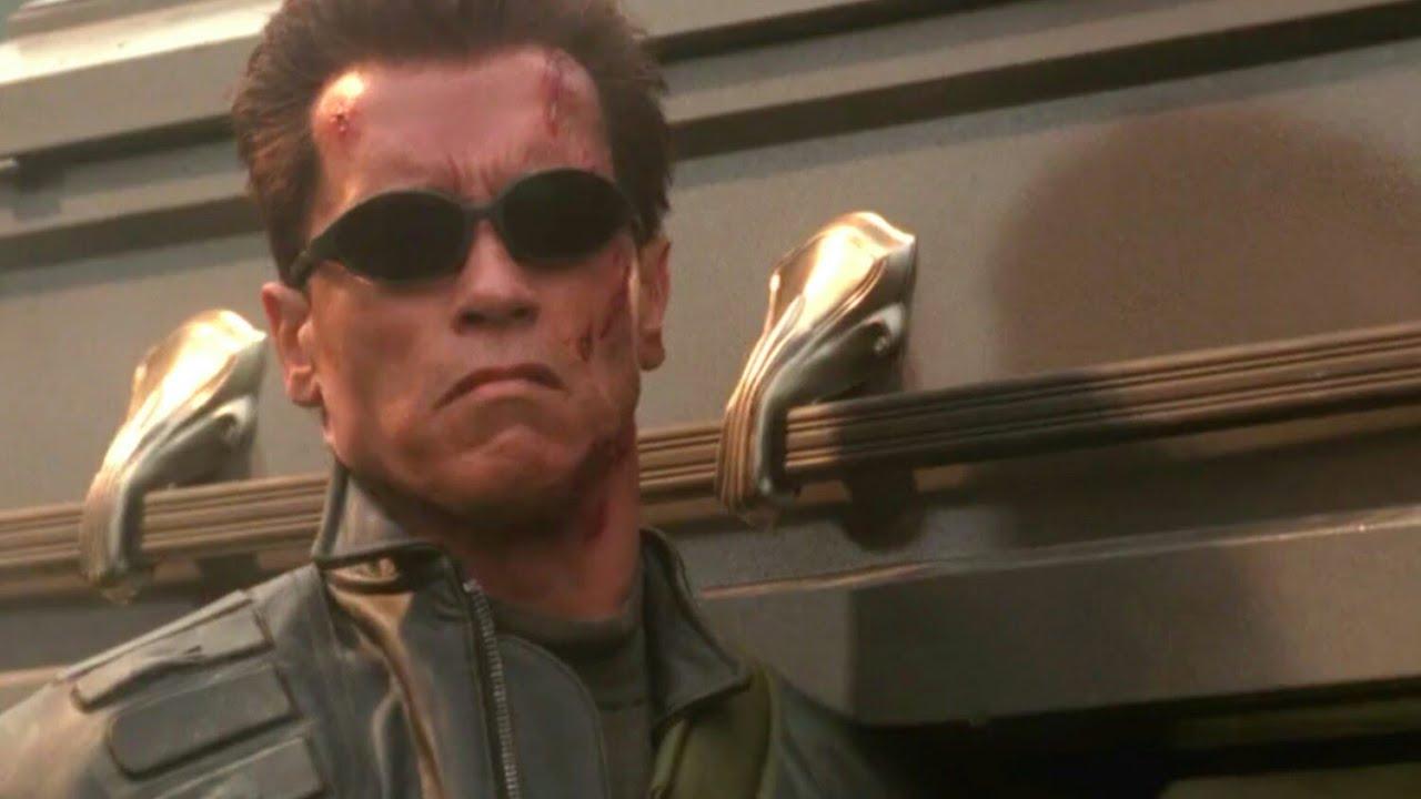 Cena do Cemitério/ O Exterminador do Futuro 3 - A Rebelião das Máquinas (2003) Dublado