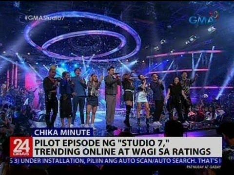 Pilot episode ng 'Studio 7,' trending online at wagi sa ratings