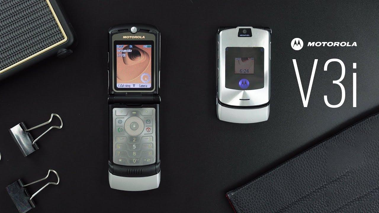 Motorola V3i ra mắt: 5,8 triệu, thiết kế vỏ sò siêu mỏng