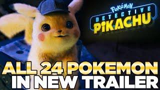 "24 ""Real"" Pokemon in Detective Pikachu Trailer - Reaction   Austin John Plays"