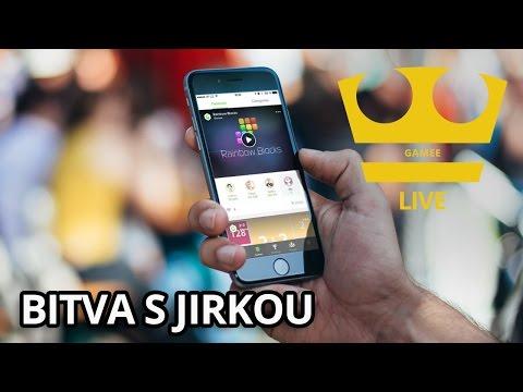 Jirka a MarweX Hraje - Gamee - Bitva s Jirkou [Mobil] [LIVE]