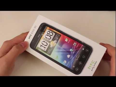 [istevencom]HTC EVO 3D开箱与初次印象