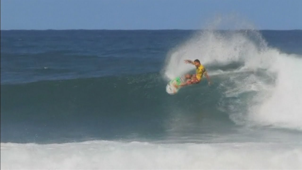 0c5801adb6 Hawaii s surfing competition  Michel Bourez surfs to victory at Reef  Hawaiian Pro