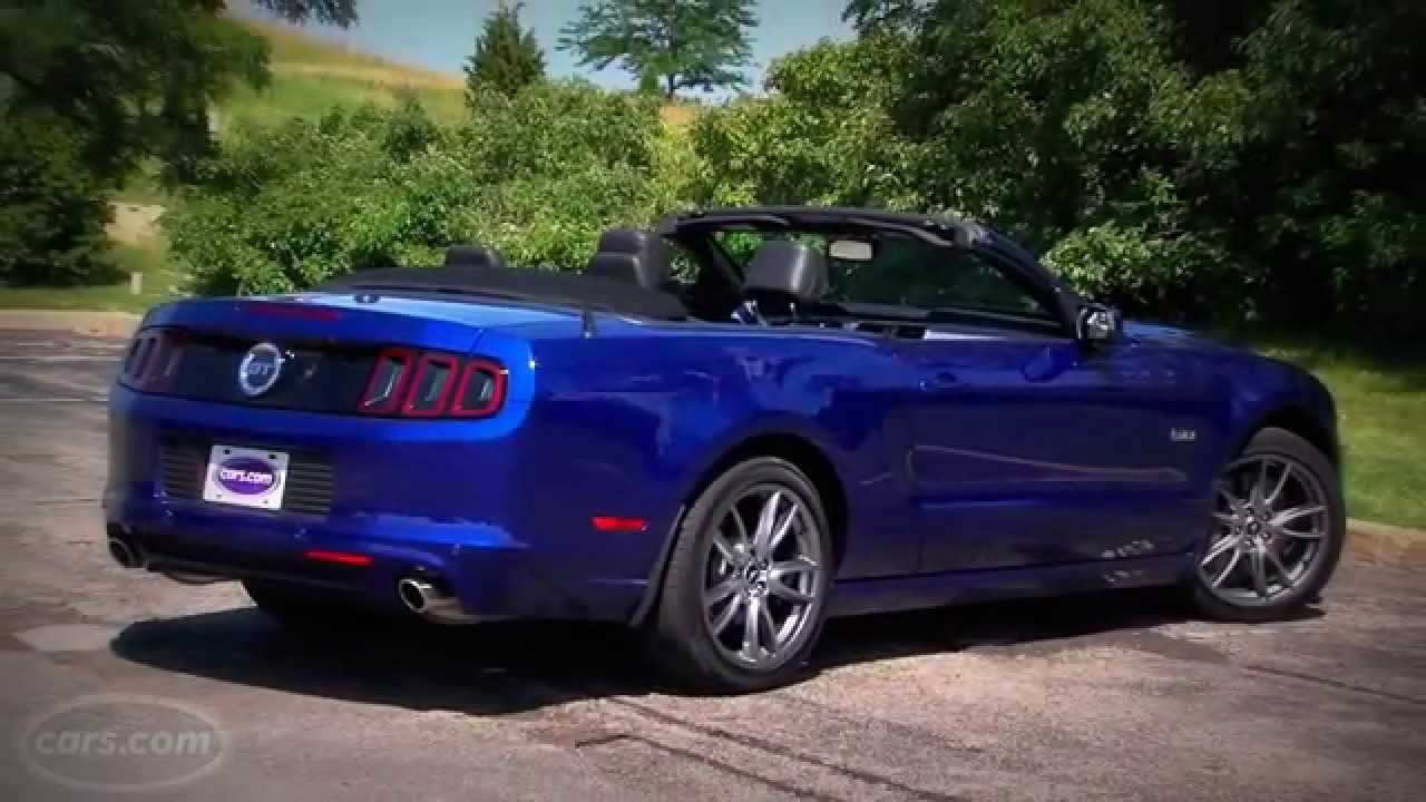 full review 2014 ford mustang gt premium convertible. Black Bedroom Furniture Sets. Home Design Ideas