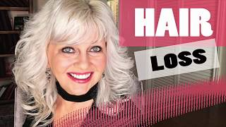 How I Stopped My HAIR LOSS    Women Over 50