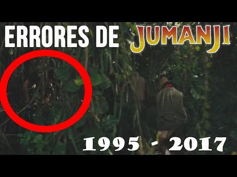 Movie Mistakes: Jumanji, Welcome to the Jungle and 1995