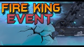 FORTNITE POLAR PEAK EVENT LIVE ICE MELTING - FIRE KING BREAKING FREE - DRAGON EGG WATCH