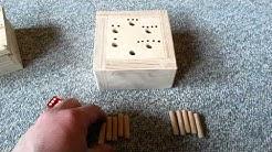 6 raus Holz Spiel Bauanleitung und Spielanleitung