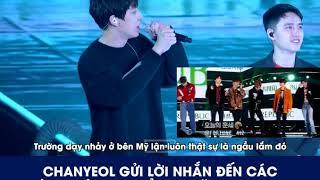[Vietsub] EXO của 10 năm nữa (2029) - Lời nhắn từ Chanyeolie =))
