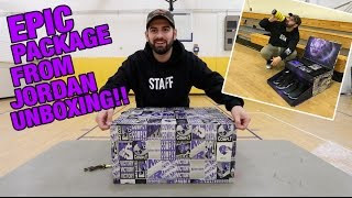 CRAZY MUST SEE UNBOXING FROM JORDAN BRAND! (SPACE JAM)