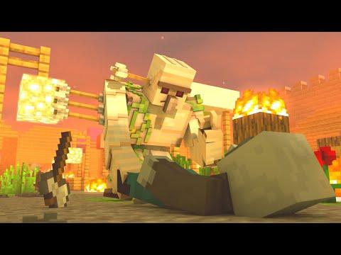 Villager vs Pillager Life #1 - Minecraft Animation
