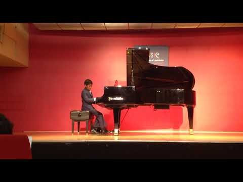 11yr old Aniketh Arvind Piano Performance: Cat and Mouse
