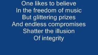 Rush- Spirit of the Radio (lyrics)
