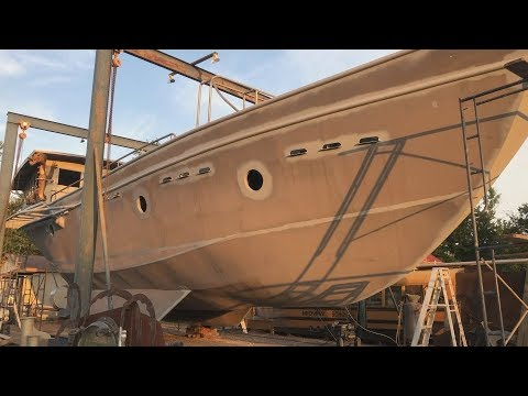 Painting The Boat - Part 8 - Cut In