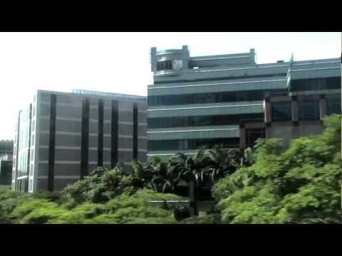 Singapore - MRT - Buona Vista Station To Chinese Gardens Station HD (2012)