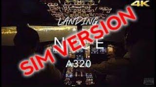Landing in Nice   FFA320 (Simulator version)